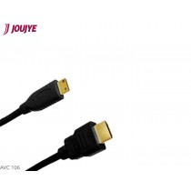 Jou Jye AVC 106-2.0m HDMI/Mini HDMI cable black