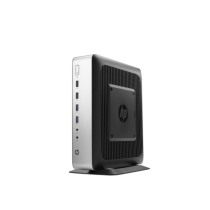 HP t730 - Thin Client - Tower - 1 x RX427BB 2.7 GHz - RAM 8 GB - Flash 32 GB WLAN Win10
